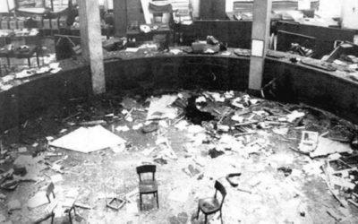 30 giugno 2001. Condanna all'ergastolo della corte d'Assise di Milano inflitta a Giancarlo Rognoni per la strage di piazza Fontana