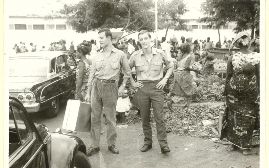 """Accadde domani. Primi giorni dell'ottobre del 1965. Robert Müller e Girolamo """"Nony"""" Simonetti arrivano in Congo"""