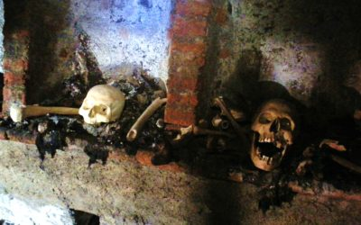 Itinerari sotterranei a Milano. Putridarium del santuario di San Bernardino alle Ossa
