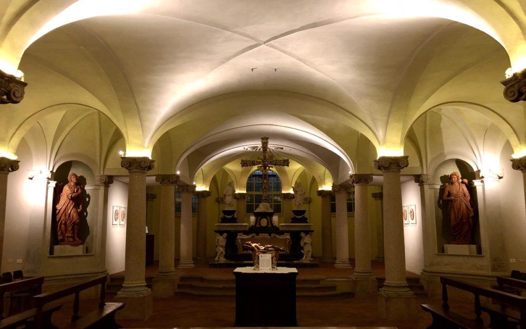 Itinerari sotterranei a Milano. Cripta della chiesa di San Fedele